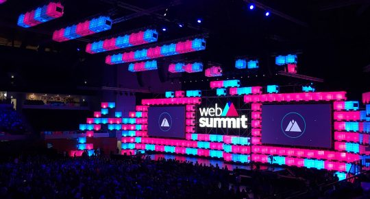Websummit opening night